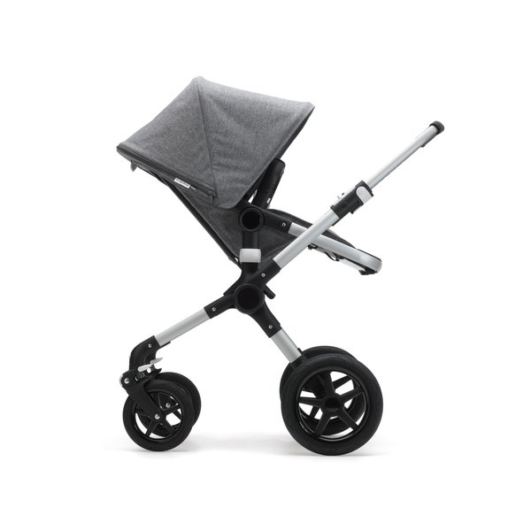 View larger image of Fox Classic Complete Stroller - Aluminum/Grey