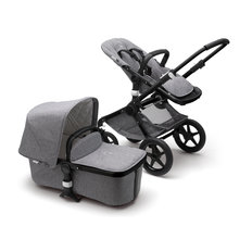 Bugaboo Fox Classic Complete Stroller - Black/Grey