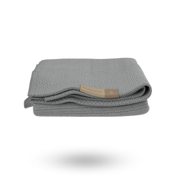 View larger image of Soft Wool Blanket - Light Grey