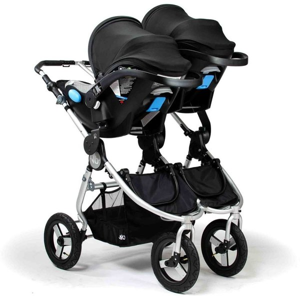 View larger image of Indie Twin Stroller Adapter Set - Clek/Maxi-Cosi/Cybex/Nuna