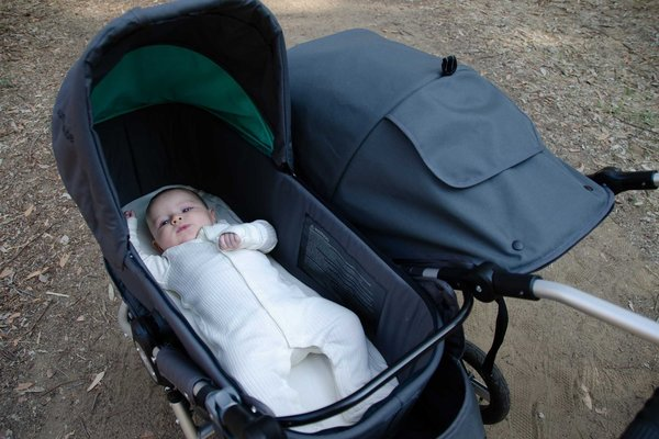 View larger image of Organic Twin Stroller Bassinet Mattress Cover