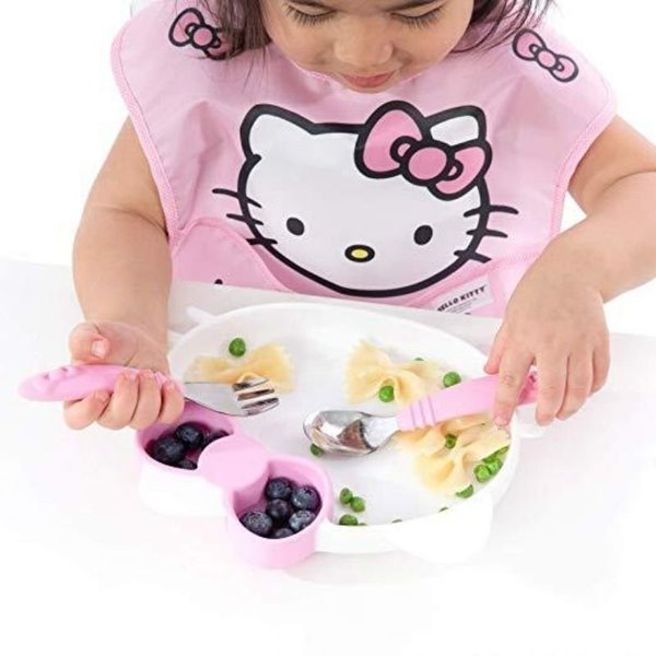 View larger image of Silicone Grip Dish - Hello Kitty