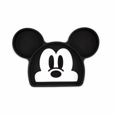 Silicone Grip Dish - Mickey