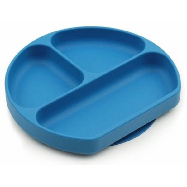 View larger image of Silicone Grip Dish - Deep Blue