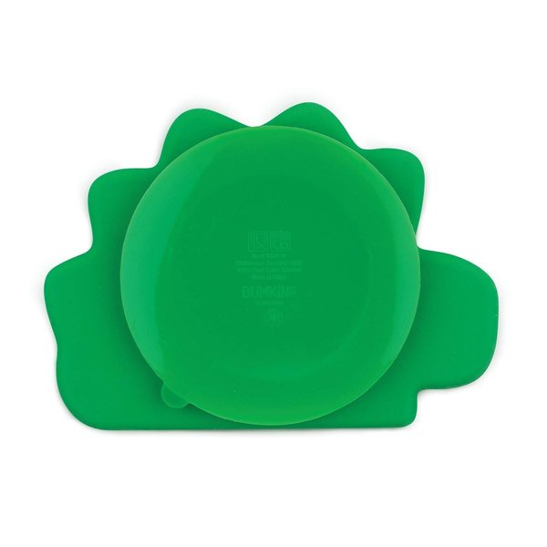 View larger image of Silicone Grip Dish - Dino