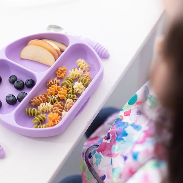 View larger image of Silicone Grip Dish - Lavender