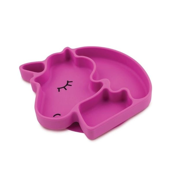 View larger image of Silicone Grip Dish - Unicorn