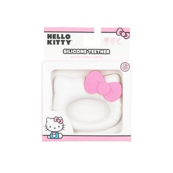 View larger image of Silicone Teether - Hello Kitty
