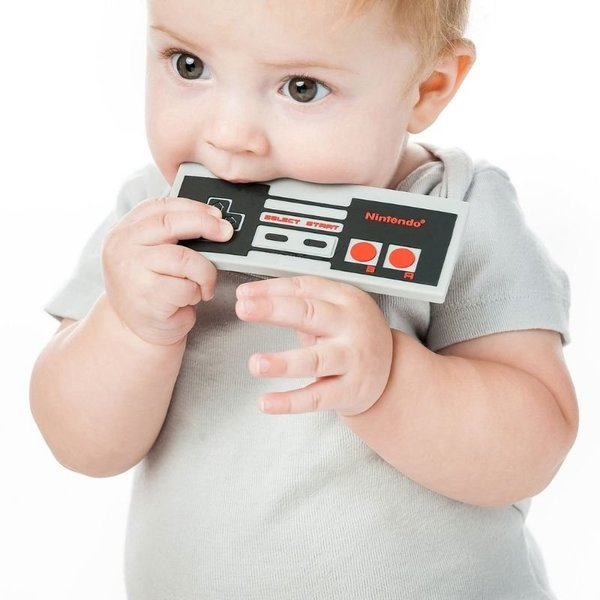 View larger image of Silicone Teether - Nintendo NES Controller