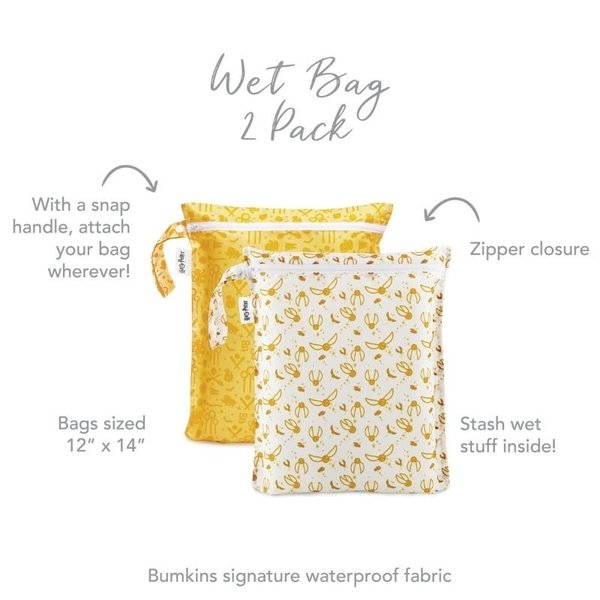 View larger image of Wet Bag 2pack - Quidditch