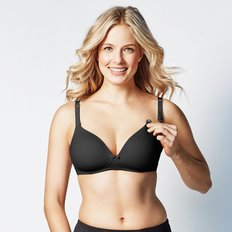 Buttercup Bra Black - DDD Cups