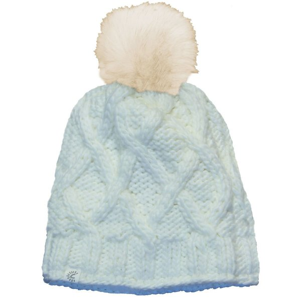 View larger image of Infant Pom Hat-White