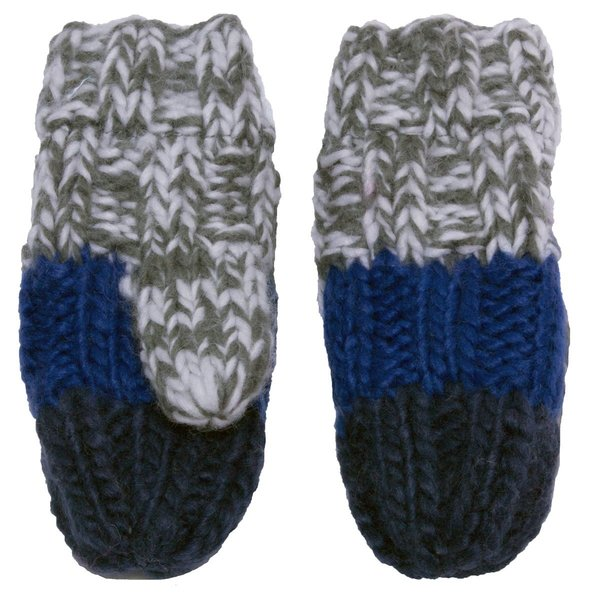 View larger image of Iceland Acrylic Knit Mitt - Blue - Small - 18M-3Y