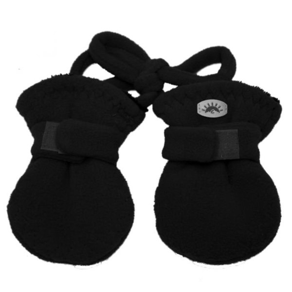 View larger image of Baby Fleece Mittens with Cord