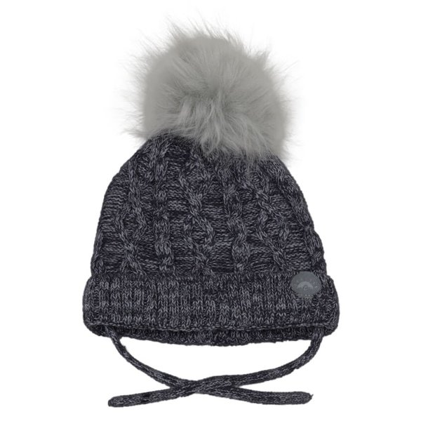 View larger image of Cable Pom Hat
