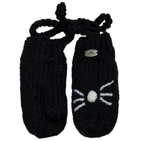 View larger image of Cat Mitts With String