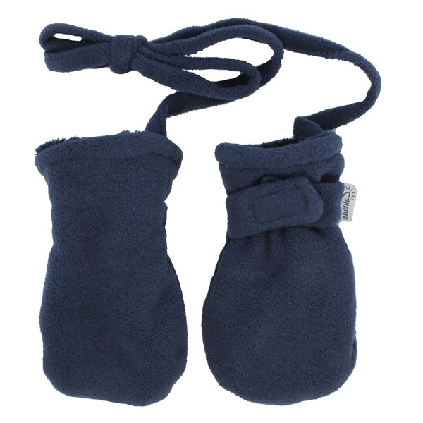 View larger image of Fleece No Thumb Mitt - Navy (Baby)