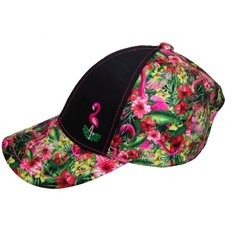 Girls Ball Cap - Flamingo Combo