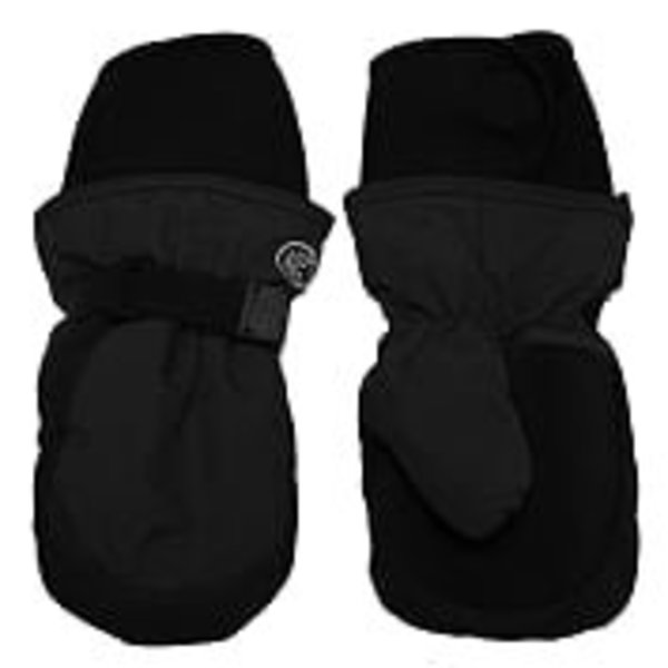View larger image of Long Cuff Mitt-Black-S