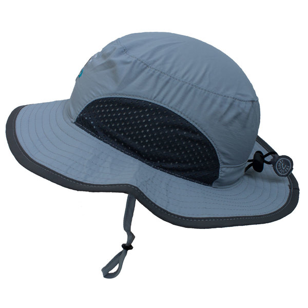 View larger image of Mesh Quick Dry Hat - Grey