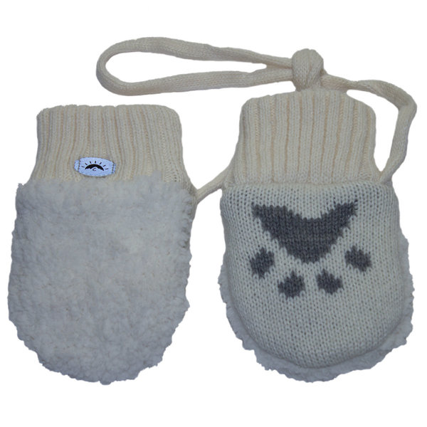 View larger image of Super Soft Mitts - Cream