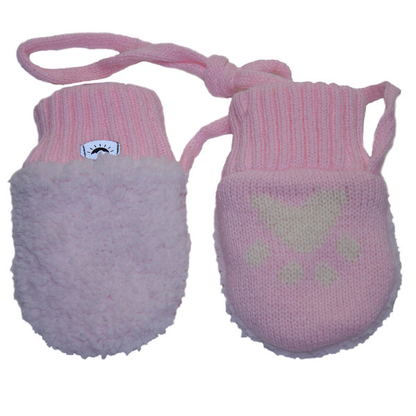 View larger image of Super Soft Mitts - Pink