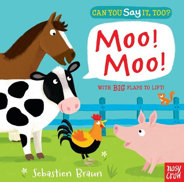 View larger image of Can You Say It Too? Moo!