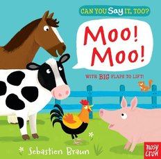 Can You Say It Too? Moo!