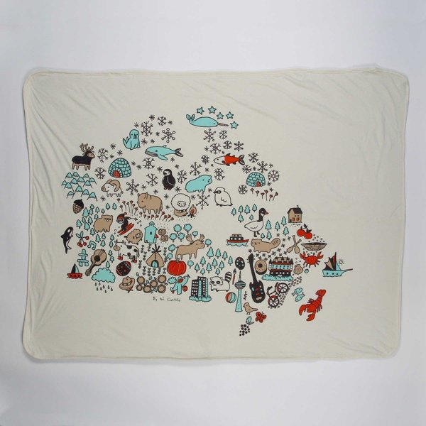 View larger image of Canada Baby Blanket