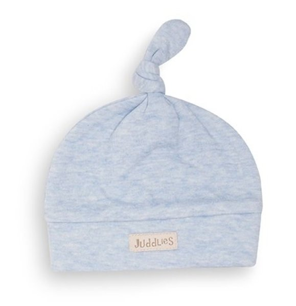 View larger image of Newborn Hat -  Blue Fleck - 4-12 Months