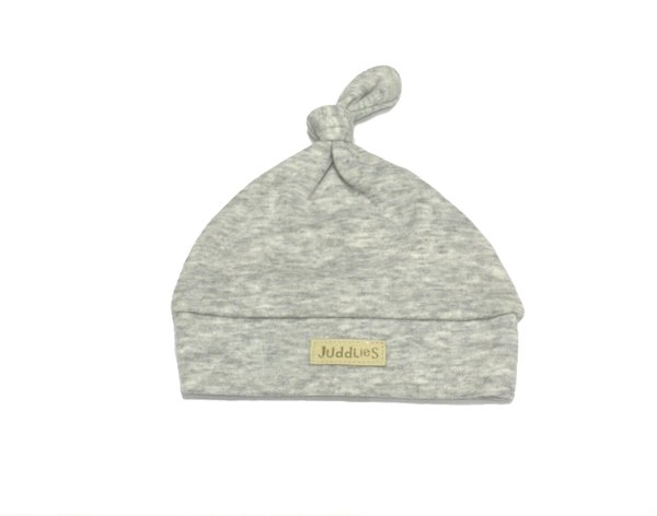 View larger image of Newborn Hat - Pale Grey Fleck - 4-12 Months