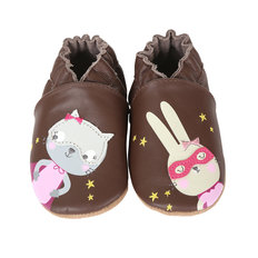 Caped Cuties 18-24M-Brown