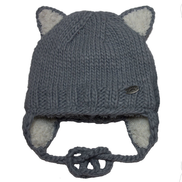 View larger image of Cat Hat-Grey-M