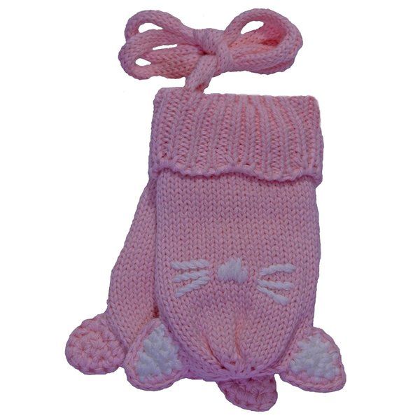 View larger image of Cat Mitt-Baby-Blushing Rose