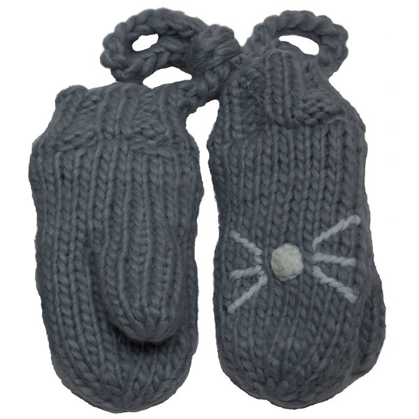 View larger image of Cat Mitts-Grey-XS