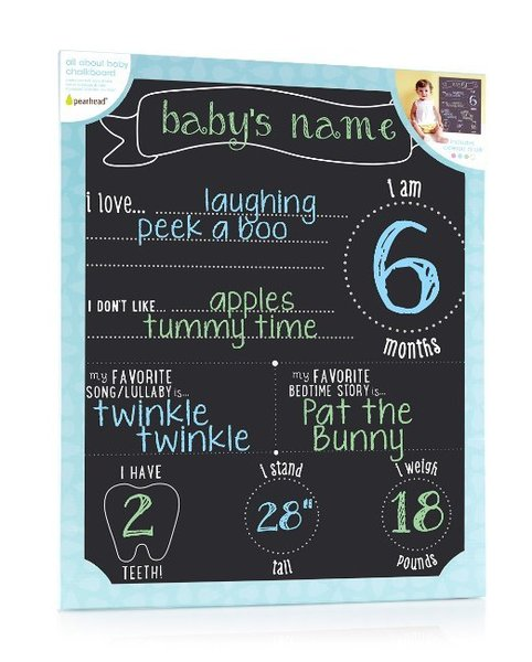View larger image of All About Baby Chalkboard