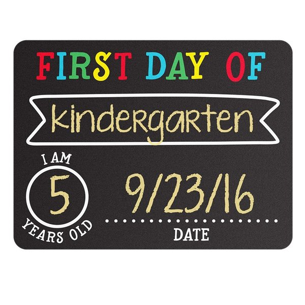 View larger image of First & Last Day Chalkboard Signs