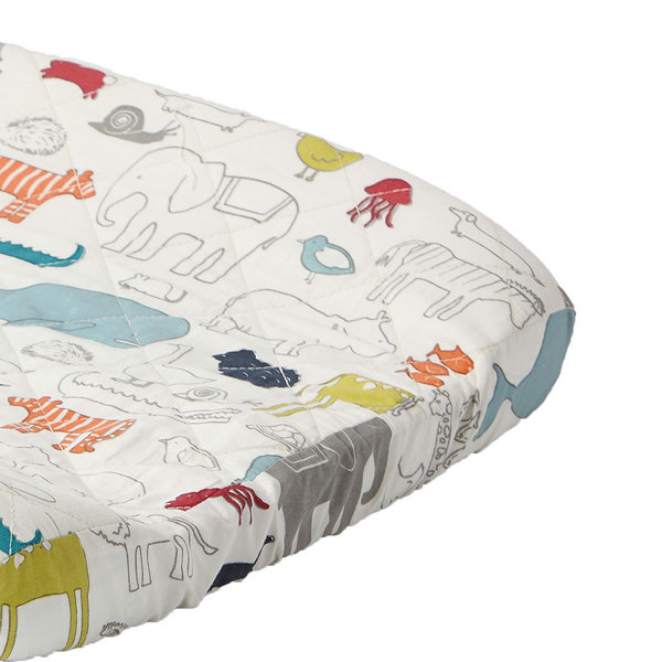 View larger image of Change Pad Cover - Noah's Ark