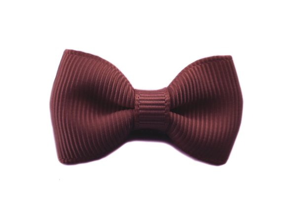 View larger image of Mini Latch Wisp Clip Charlotte Bow - Burgundy