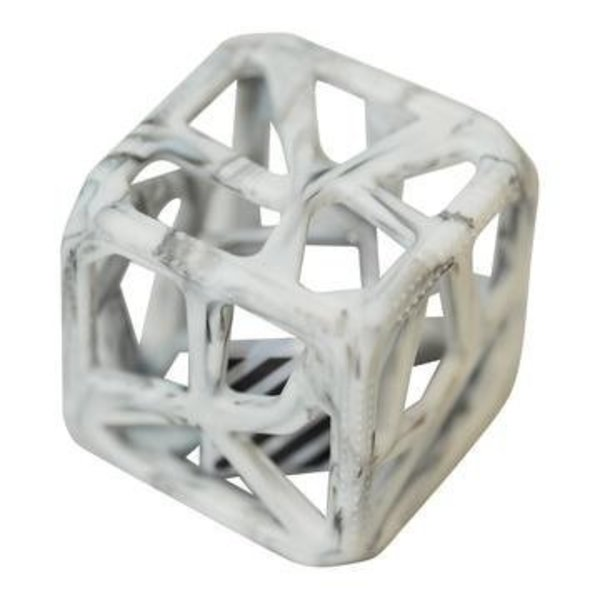 View larger image of Chew Cube - Marble Grey