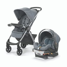 Mini Bravo Plus Travel System - Bombay