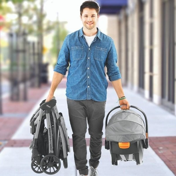 View larger image of Mini Bravo Plus Travel System - Bombay