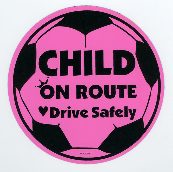 View larger image of Child on Route Magnet