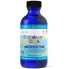 Children's DHA Liquid - Strawberry - 119ml