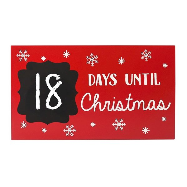 View larger image of Christmas Countdown Chalkboard