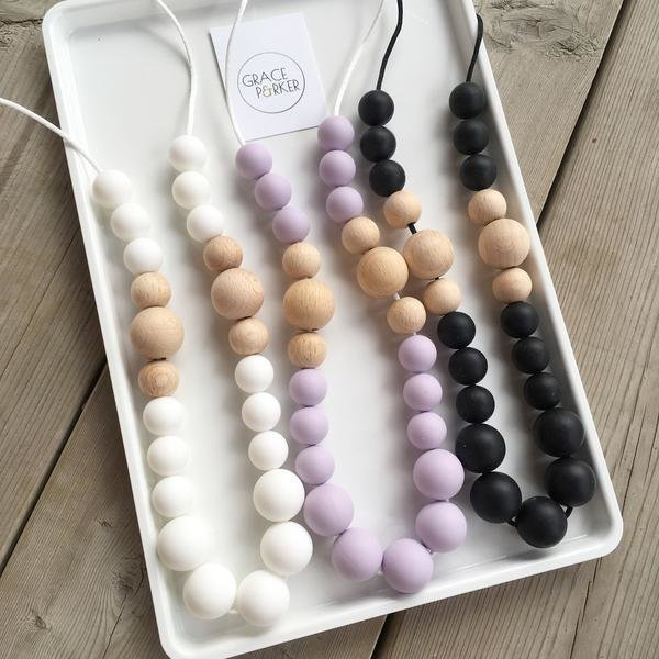 View larger image of Classic Teething Necklace