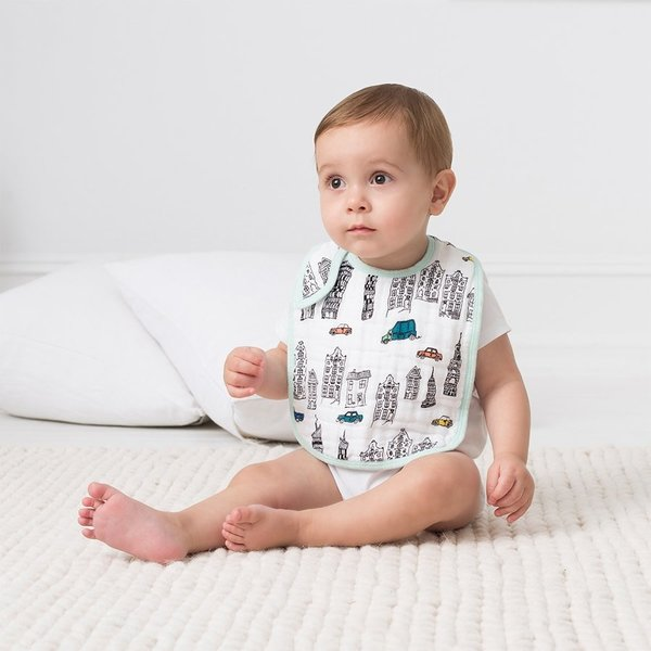 View larger image of Snap Drool Bibs - 3 Pack - Colour Pop