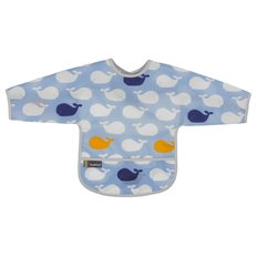 Clean Bib with Sleeves- 1-2 Yr