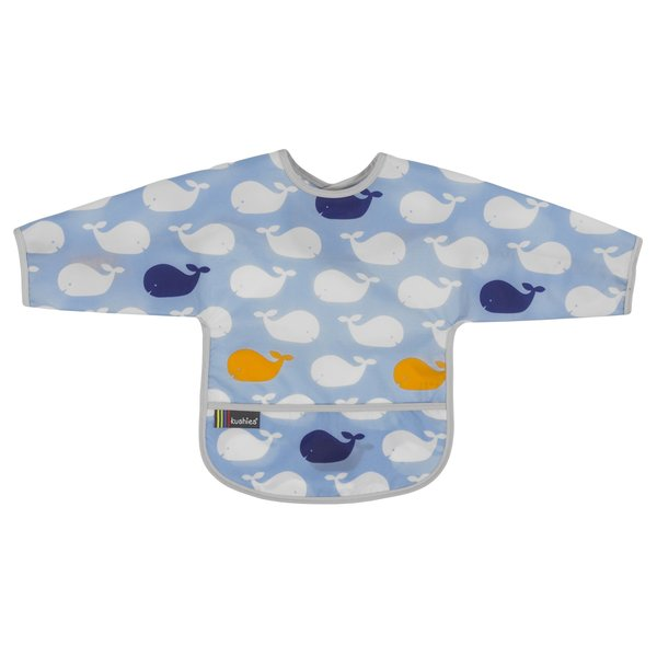 View larger image of Clean Bib with Sleeves- 1-2 Yr