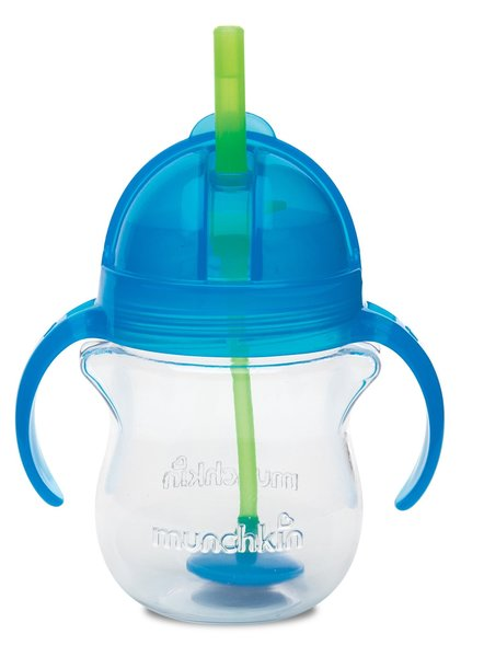 View larger image of Click Lock Weighted Flexi-Straw Cups - 7oz